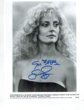 Susan Sarandon Hand Signed Photo.