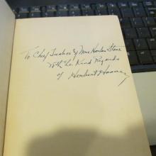 April Autograph Auction