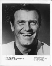 Eddy Arnold Hand Signed Black & White Photo