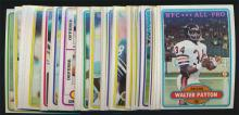 1980 Topps Football (50) Different with superstars