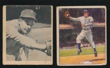 1948 amd 1950 Bowman Feris Fain Cards