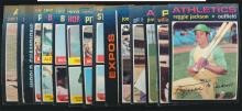 1971 Topps Baseball (18) Superstar and Better cards
