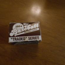 1984 Topps Traded Series 132 Cards Box Set