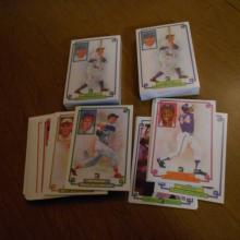 3   1984 Donruss Grand Champion Sets 60 Cards Each w/ BABE RUTH CARDS