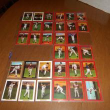 32  2006 Topps Turkey Red Insert Cards  Jeter, Chipper, Mauer, Ryan