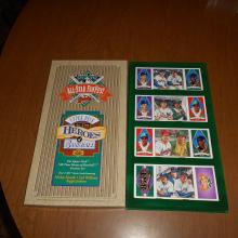 Upper Deck All Star Fanfeast Heroes of Baseball Four T-202 Cards Mantle, Williams