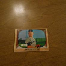 Whitey Ford 1955 Bowman Baseball Card New York Yankees #59