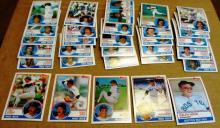 30) 1983 Topps Boston Red Sox Team Set  no boggs, 3 traded