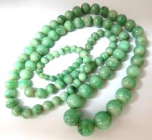 290ct GIA Certified 10.20mm NATURAL GREEN JADE BEAD