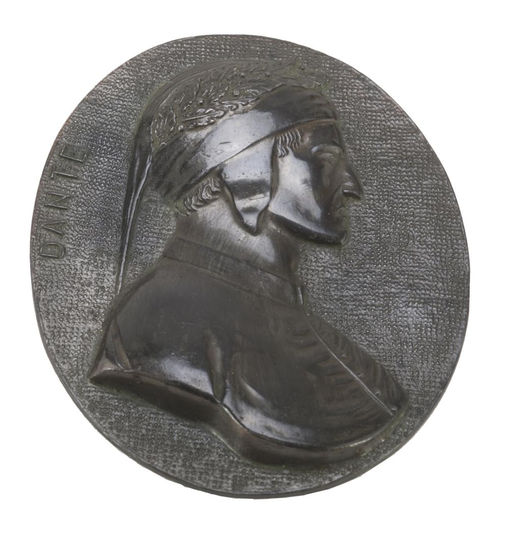 Lot 390: SMALL BAS-RELIEF IN BRONZE, LATE 19TH CENTURY