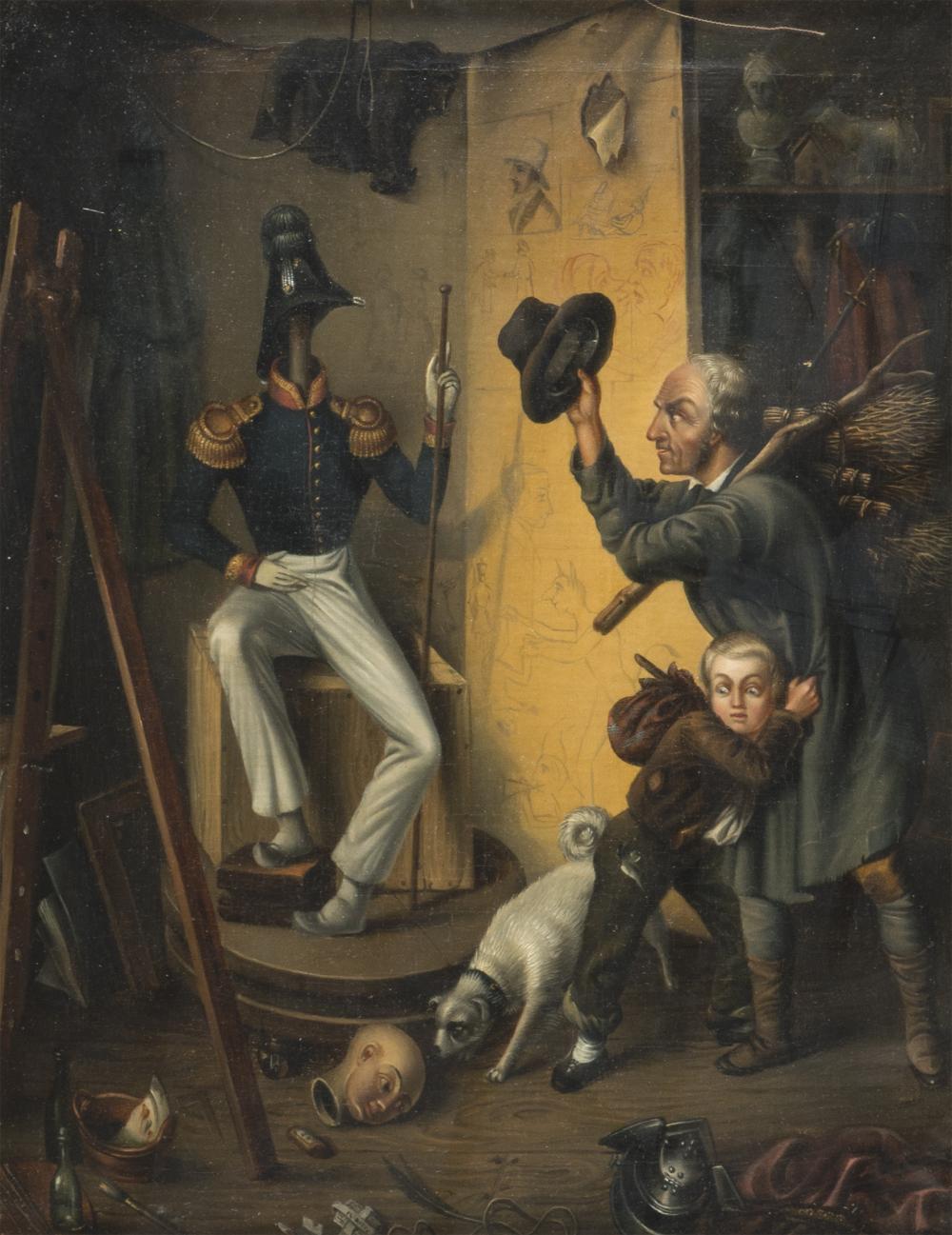 Lot 400: EUROPEAN PAINTER, 19TH CENTURY