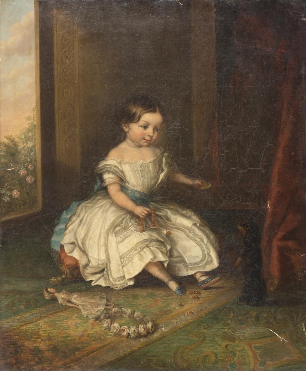 Lot 401: EUROPEAN PAINTER, 19TH CENTURY