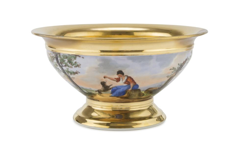 Lot 405: CUP IN PORCELAIN, PROBABLY NAPLES 19TH CENTURY