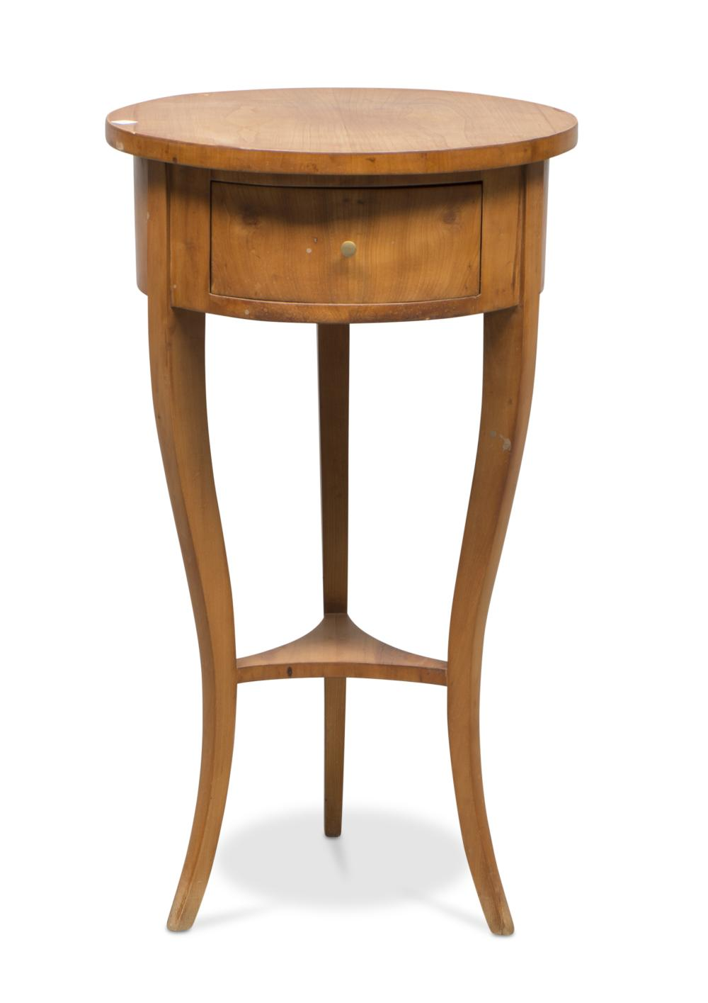 SMALL TABLE IN CHERRY TREE, FIRST HALF OF THE 19TH CENTURY