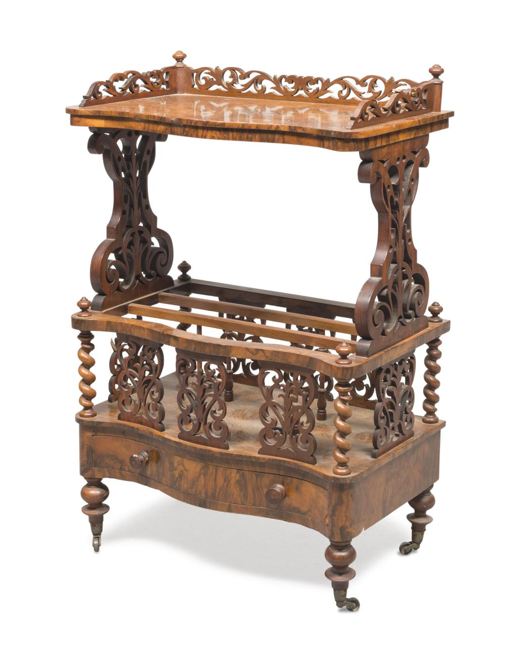Lot 485: ETAGERE, ENGLAND EDWARDIAN PERIOD