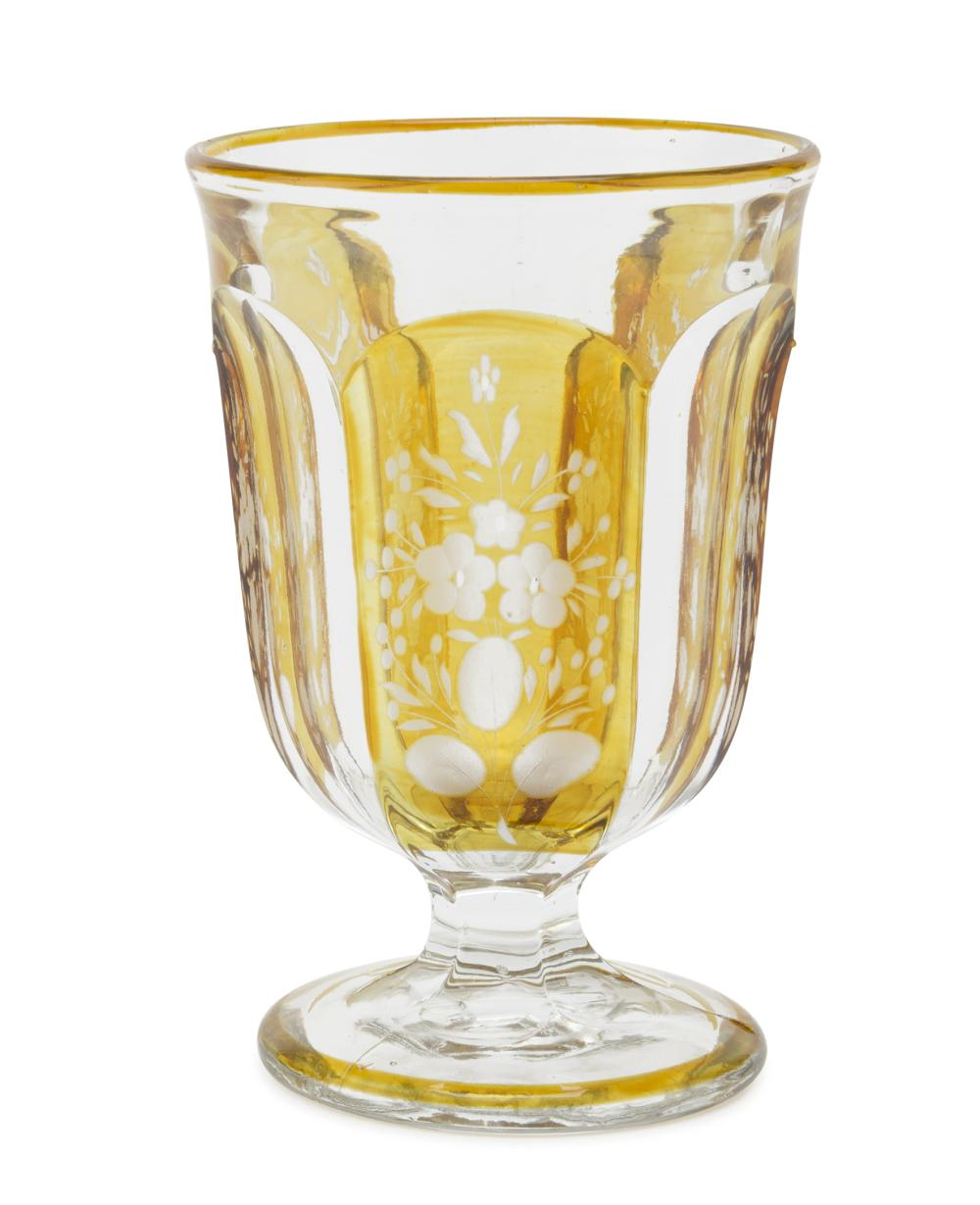 CRYSTAL GLASS, VIENNA EARLY 20TH CENTURY