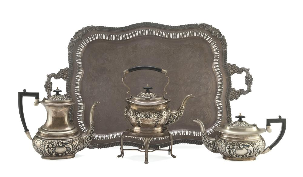 TEA AND COFFEE SERVICE IN SHEFFIELD, UNITED KINGDOM 19TH CENTURY