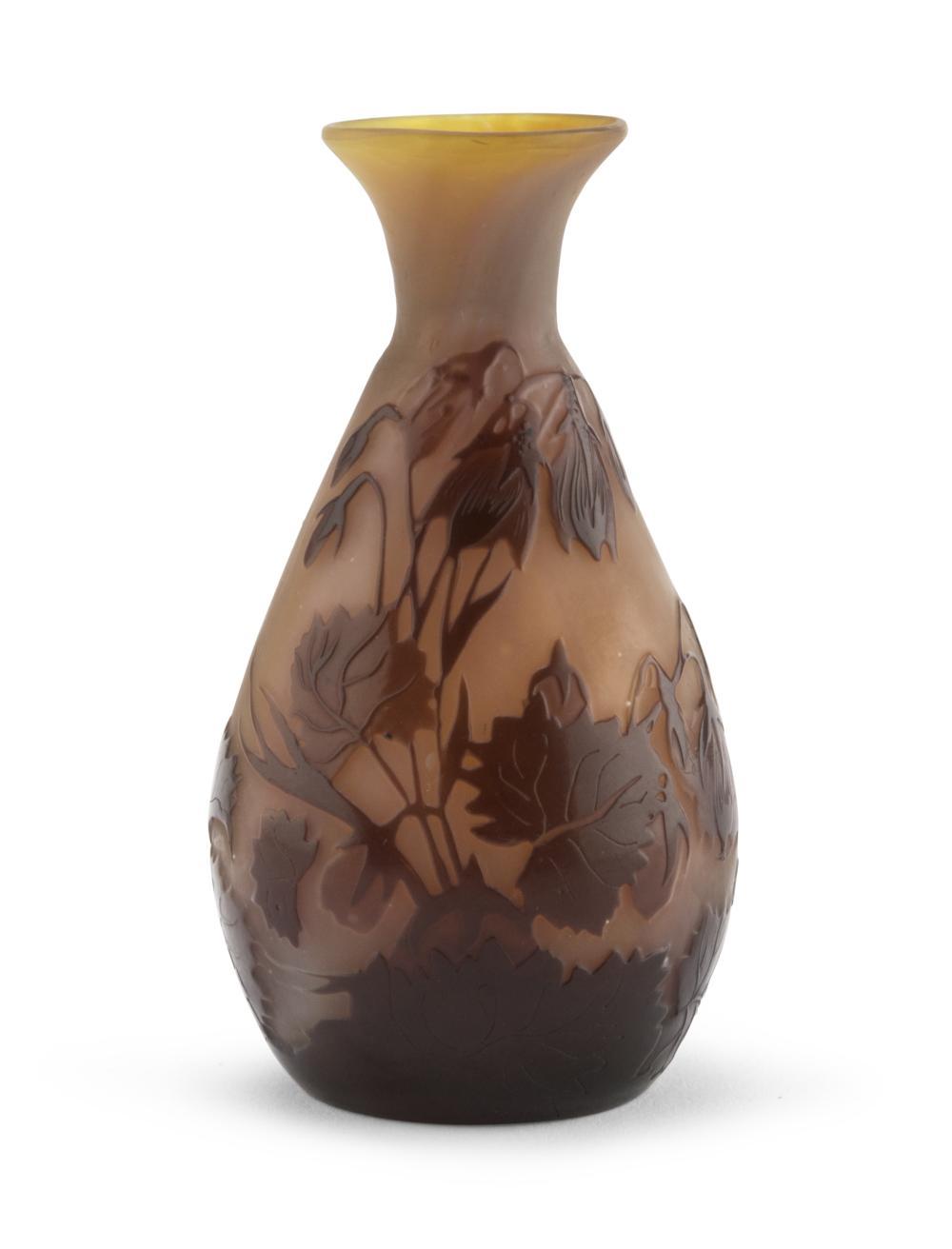 Piccolo vaso di emile gall nancy 1846 1904 for Vaso galle
