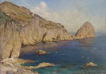 EUROPEAN PAINTER, 20TH CENTURY  CAPRI