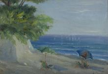 G. PRADA (20th century)  SEASCAPE