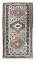 PAIR OF BED RUGS PAKISTAN, MID-20TH CENTURY