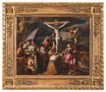 OIL PAINTING BY HANS VON AACHEN (1552-1615) att.to