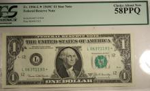 969 $1 FRN Fr. 1906-L* AU58PPQ PCGS