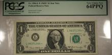 1969 $1 FRN Fr. 1906-L* MS64PPQ PCGS