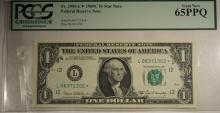 1969 $1 FRN Fr. 1906-L* MS65PPQ PCGS