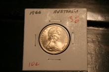 1966 Australia Proof 10 cents Uncirclullated check your books