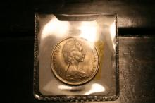 1966 Australia Proof 20 Cents Uncirculated  check your books