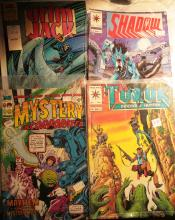 Comics :   Turok, Mystery Incorporated, Grim Jack and Shadow