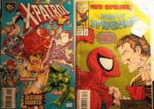 Web os Spiderman Vol 117 and X-Patrol Destiny Awaits
