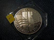 We Will Never Forget 9/11 - 1 Troy Oz. 999 Silver