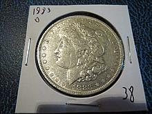 1883O Morgan Silver Dollar