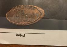 world trade center enlongated penny souvenir