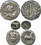 ANCIENT COINS. Greek. Thessaly, Larissa (c.356-342