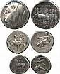 ANCIENT COINS. Greek. Calabria, Tarentum (3rd