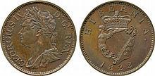 COINS, EUROPEAN TERRITORIES, IRELAND George IV