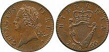 COINS, EUROPEAN TERRITORIES, IRELAND George II