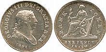 COINS, EUROPEAN TERRITORIES IRELAND George III