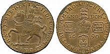 COINS, EUROPEAN TERRITORIES, IRELAND James II