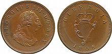 COINS, EUROPEAN TERRITORIES, IRELAND George III