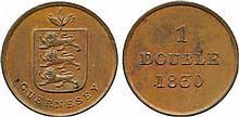 COINS, CHANNEL ISLANDS, GUERNSEY William IV