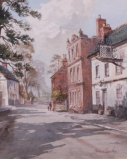 Michael Crawley The Chequers Inn, Ticknall,