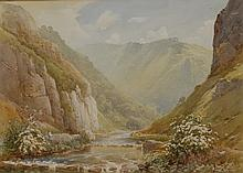 Harold Gresley (1892 - 1967) A May Morning in Dovedale signed, titled to ve
