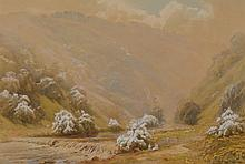 Harold Gresley (1892 - 1967) Dovedale, Derbyshire signed, watercolour, 39cm