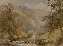 Harold Gresley (1892-1967) The Entrance to Dovedale, Derbyshire signed, tit