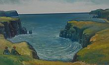 Jonathan Armigel Wade (Bn.1960) View over the Cove signed, dated 1997, oil