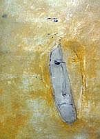 Mahi Binebine (1959) Abstract, mixed media, signed